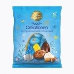Wielkanocne jajka czekoladowe puszysty Mleczny krem