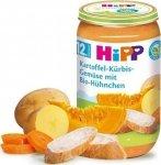 Hipp Bio obiadek Ziemniaki z Dynią Warzywa Kurczak 12m 250g
