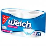 GG Papier toaletowy Miękki Gruby 3 warstwy 2x200