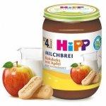 Hipp Mleczna Kaszka Zbożowa Biszkopt Jabłko 4m 190g