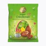 Wielkanocne jajka czekoladowe Nugat Orzechy Laskowe