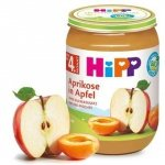 HIPP BIO Owoce Morele z Jabłkami 190g 4m