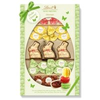 Lindt Wielkanocna Mieszanka Macarons 4 odmiany i zajączki 230g