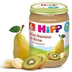 HIPP BIO Owoce Kiwi Banan i Gruszka Witaminy 190g 6m
