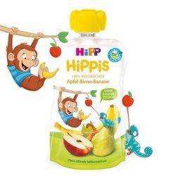 Hipp Hippis Bio 100% Owoce Jabłko Gruszka Banan 100g