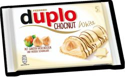 Ferrero Duplo Chocnut Batoniki Biała Czekolada Orzeszki 5 szt
