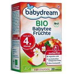 Babydream Bio Herbatka Owocowa z Marchewką saszetki 4m