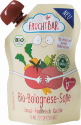 FruchtBar Sos Bolognese Wołowina 20% Makaronu Kasz 190g