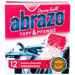 Abrazo 12x czyściki nasączane zmywaki Niemcy