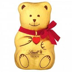 Lindt Czekoladowy Miś Teddy z Mlecznej Czekolady 100g
