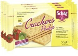 Schar Słone Krakersy Bez Glutenu Laktozy