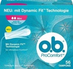 OB Pro Comfot Mini 56 szt Tampony Niemieckie