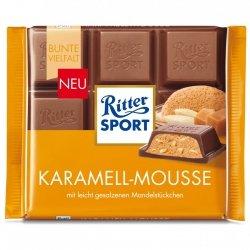 Ritter Sport Mus Karmelowy Prażone Słone Migdały