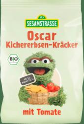 Ulica Sezamkowa Oskar Krakersy z Ciecierzycy z Pomidorami
