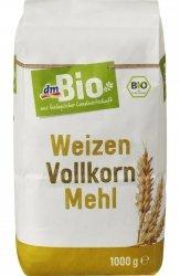 BIO Ekologiczna Mąka Pszenna Razowa 1 kg