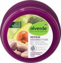 Alverde BIO Masło do Włosów Repair Masło Shea Awokado Wegan