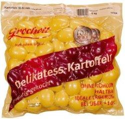 Ziemniaki gotowane Całe Wakuum Gotowe do Spożycia 30-50mm 6kg