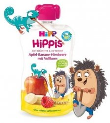 Hipp Hippis Malina Jabłko Banan Zboża 1r 100g