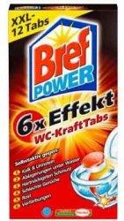 Bref 12x Tabletki odkamieniacz WC Cytryna Niemcy