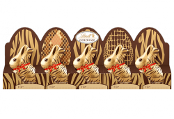 Lindt Safari Wielkanocne Czekoladowe Zajączki 5x10g