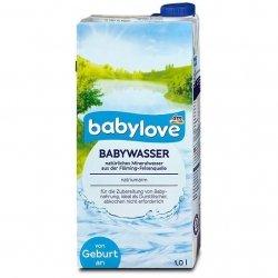 Babylove Specjalna Woda Źródlana 1L od 1 dnia życia