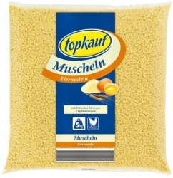 Topkauf Makaron Jajeczny Durum Muszelki na Jajkach 5kg