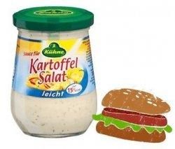 Kuhne Sos Do Sałatek Burgerów Hot-dog Light 15% Tłuszczu