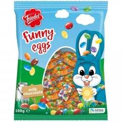 Friedel Wielkanocne Jajka Wypełnione Drażetkami