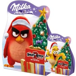 Milka Snowballs Czekolada Skorupce Angry Birds