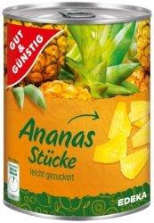 GG Ananas w lekkim syropie plastry 565g