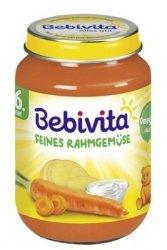 Bebivita Kremowe Warzywka w Śmietanie 6m 190g