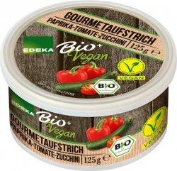 Edeka Bio Pasta pasztet Cukinia Papryka Pomidor Wegan