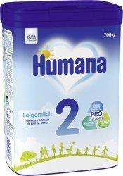 Humana 2 mleko następne dla niemowląt po 6m 700g