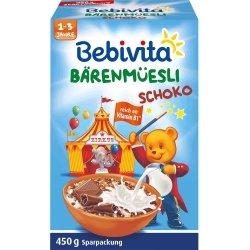 Bebivita Musli Zbożowe Czekoladowe do Mleka 450g 1r