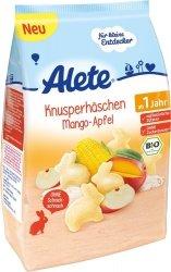 Alete Bio Chrupki Ryżowe Króliki Mango Jabłko