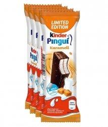 Ferrero Kinder Pingui Karmelowe Batoniki 4szt Niemcy