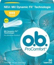 OB Pro Comfot Normal 56 szt Tampony Niemieckie