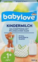 Babylove Mleko następne od 12m życia 500g 1+