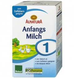 Alnatura 1 Bio mleko początkowe od urodzenia 500g