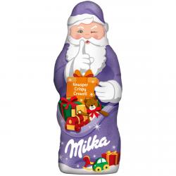 Milka Mikołaj Święta Choinkę Knusper Crispy Crousti 50g