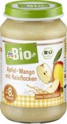 Bio Deser Jabłko Mango płatki Ryżowe 8m 190g