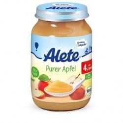 Alete Bio mus Jabłko pure jabłkowe 190gr 4m