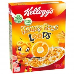 Kellogg's Honey Bss Loops Miodowe Oponki Witaminy