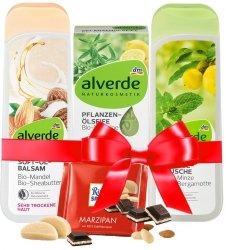 Alverde Zestaw Prezentowy Naturalnych Kosmetyków Ciało
