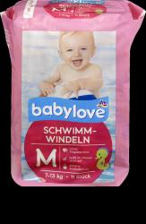 Babylove Pieluszki Majteczki do pływania 7-13kg 11szt