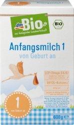 Bio 1 Pierwsze mleko początkowe od urodzenia 600 g