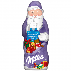 Milka Wigilijny Czekoladowy Mikołaj Święta Choinkę 100g