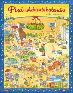 Pixi Kalendarz Adwentowy 24 Książki Dzieci Niemiecki