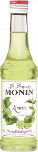 Monin Syrop Limetka Kawa Drinki Napoje 250ml
