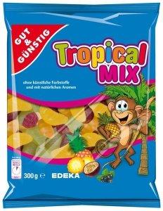 GG Tropikalne Żelki w Kształcie Owoców 300g